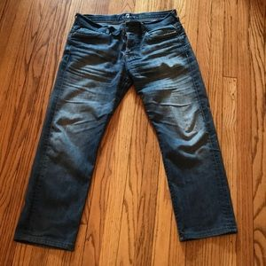 7 for all mankind jeans size 34 pre owned